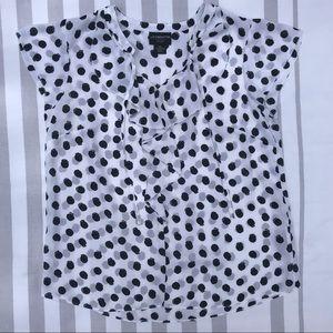 Liz Claiborne ruffled shirt